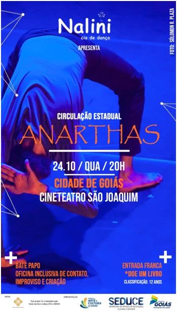 adbc68abf7 Espetáculo de dança contemporânea se apresenta na Cidade de Goiás ...